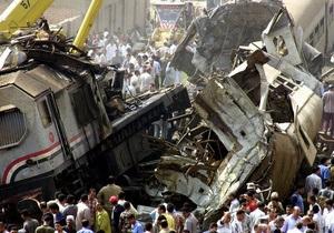ЗМІ: В аварії потягу в Єгипті винні люди, які вийшли на акцію протесту на залізничну колію