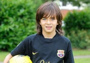 Барселона подписала девятилетнего ирландца