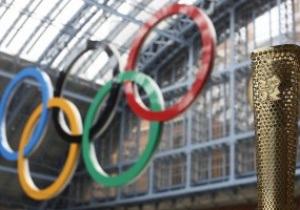 Первые украинские олимпийцы прибыли в Лондон