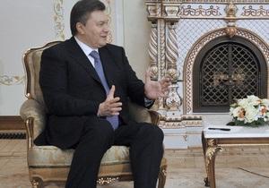 Янукович: Ми не говоримо «ні» Митному союзу