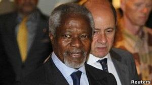 Сирія: Аннан готовий до переговорів з Асадом