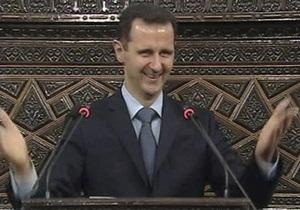 Асад звинуватив ряд країн в провалі плану Аннана