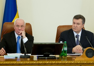 Янукович доручив Кабміну розглянути поправки до закону про мовну політику