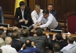 Депутати оскаржать у Конституційному суді процедуру прийняття мовного закону