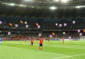 UEFA запустил сервис, позволяющий найти себя на стадионе во время матчей Евро-2012