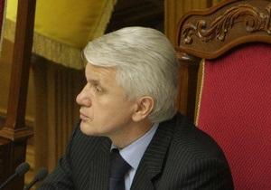 Литвин вважає, що мовний закон слід було прийняти з його поправками