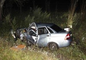 У Запорізькій області зіткнулися два автомобілі: троє загиблих