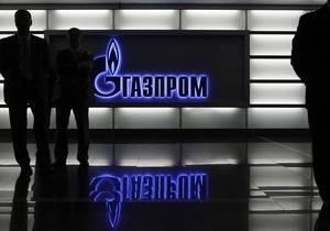 Газпром обговорив з українським Міненерго темпи закачування газу у сховища