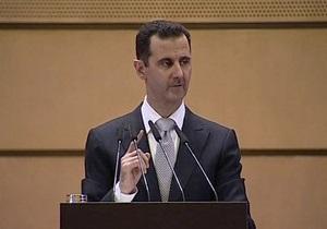 Асад зробив заяву щодо інциденту з турецьким літаком