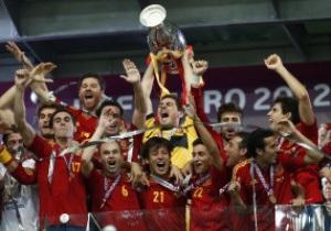 Иньеста признан лучшим игроком финала Евро-2012
