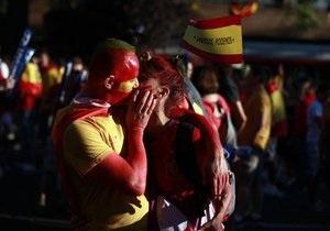 Більше 63 тисяч уболівальників дивляться фінал Євро-2012 на НСК Олімпійський