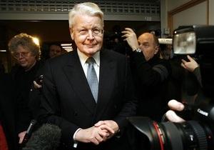 Президент Ісландії обраний на п ятий термін