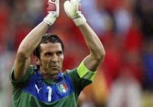 Буффон: От Испании ждали выхода в финал, а Италия стала сюрпризом
