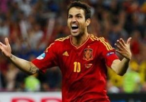 Фабрегас: То, что сборная Испании сделала - выдающееся достижение