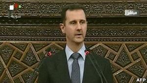 Башар Асад: Сирія у стані війни