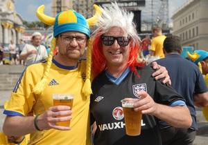 Опитування: 56% іноземних фанатів вперше скуштували сало на Євро-2012
