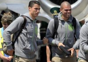 Фотогалерея: Южные гости. Португалия прибыла в Донецк