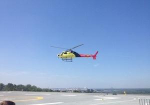 В Киеве начало работу первое в Украине аэротакси