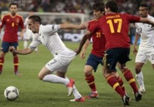 Испания - Франция - 2:0. Live