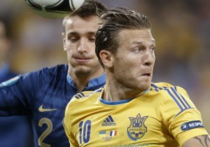 Воронин: Еще разок футболку сборной Украины я все-таки надену