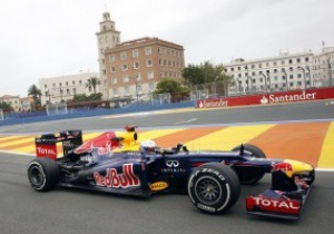 Феттель выиграл вторую практику Гран-при Европы