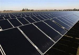 В Одессе заработала первая солнечная электростанция