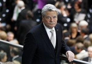 Президент Німеччини відмовився підписувати угоду про порятунок єврозони