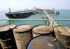 Ціни на нафту в Європі впали нижче як $ 90 за барель