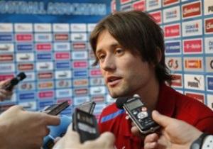 Источник: Росицки не выйдет в стартовом составе на матч против Португалии в четвертьфинале Евро-2012