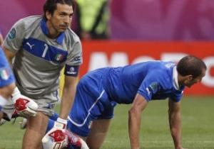 Столп обороны сборной Италии пропустит четвертьфинал Евро-2012