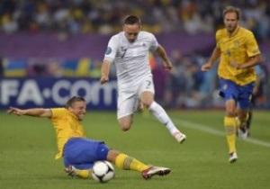 Швеция - Франция - 2:0. Live