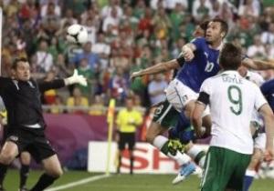 Дождались: Италия переиграла Ирландию и вышла в плей-офф