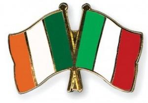 Італія - Ірландія - 2:0, видалення гравця. Текстова трансляція