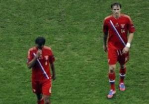 В штабе сборной России поражение на Евро-2012 списали на эмоциональную усталость