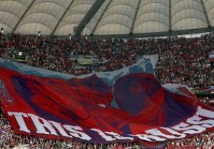Российский футбольный союз оштрафовали за поведение болельщиков на матче с Польшей
