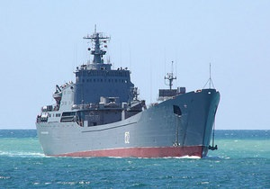 Москва спростувала повідомлення західних ЗМІ, що до Сирії попрямував корабель ЧФ