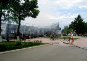 В Самаре по итогам матча Россия - Греция сожгли кафе