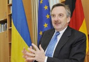 Посол Германии в Украине: Поведение украинских болельщиков достойно подражания