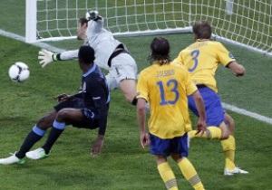 Англия лишает Швецию шансов на плей-офф