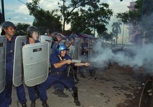 У Парагваї під час зіткнень селян з поліцією загинуло 16 осіб