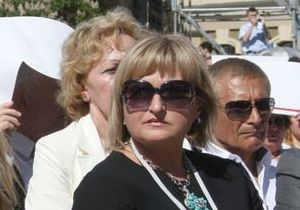 Дружина Луценка вважає Януковича людиною з низьким інтелектуальним рівнем