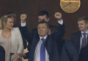 Янукович посетит матч Украина - Франция в Донецке