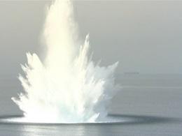 У Севастополі у морі знищили двотонну торпеду