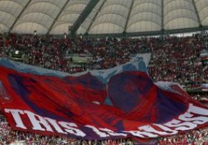 UEFA начал дисциплинарное расследование из-за провокационного баннера российских болельщиков