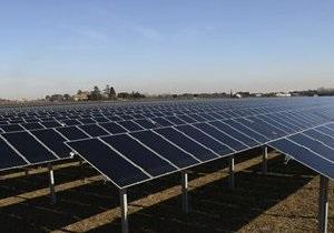 Израильская компания построит крупную солнечную электростанцию в Одесской области