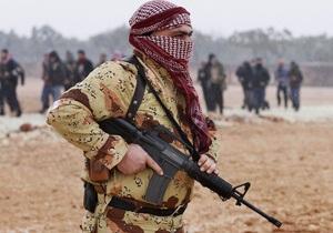 МЗС Франції: Якщо сирійським повстанцям не постачатимуть зброю, їх вб'ють на місці
