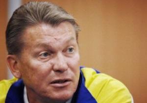 Луческу считает стиль Блохина нетрадиционным, а Воронина - игроком раздевалки