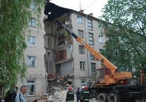 Мешканцям зруйнованого будинку в Луцьку виплатять по 10 тисяч гривень
