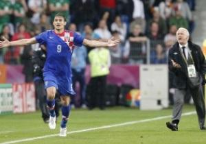 Фотогалерея: Стрикер, петарды и четыре гола. Хорватия разбирается с Ирландией