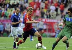 Битва характеров: Италия дала бой Испании